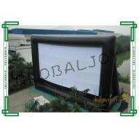 Wholesale Giant Airblown Inflatable Movie Screens / Inflatable Theater Screen from china suppliers