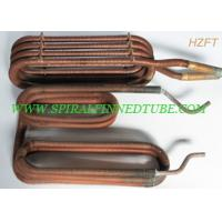 Quality Automotive Engineering Condenser Finned Coil Heat Exchangers  Aluminum / Copper for sale