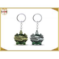 Wholesale Die Casting 3D Brass Vintage Metal Key Ring Pear Finishing For Promotion With Laser Logo from china suppliers