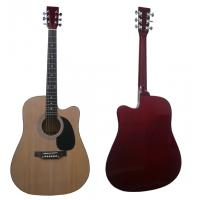 """Wholesale 41"""" Wood Acoustic Guitar Spruce Cutaway Wood With Maple Neck from china suppliers"""