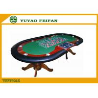 Wholesale 8 Or 10 Payers Texas Holdem Poker Table With Black Holder Red Race from china suppliers