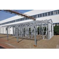 Wholesale Metal Car Sheds Light Steel Frame Sheds Moistureproof Strong Frame With A Storage from china suppliers