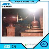 Wholesale Vodka Distillery Equipment For Sale & Red Copper Small Size Whiskey Distilling Equipment from china suppliers