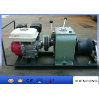 Wholesale 30KN Petrol Gas Engine Powered Winch Powered Pulling Winch With HONDA Engine from china suppliers