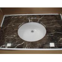 Buy cheap Brown Marble Vanity Top (V-08) from wholesalers