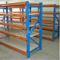 Wholesale Adjusted 4 Levels Storage Long Span Shelving Medium Duty Racks 1800*600*2400mm from china suppliers