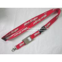 Wholesale 20cm Promotional Screen Neck Lanyard With Metal Bottle Opener Lanyard from china suppliers