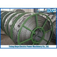 Wholesale Breakage Tension 250kN Braided Pilot Wire Rope Transmission Line Stringing 12 Strands from china suppliers