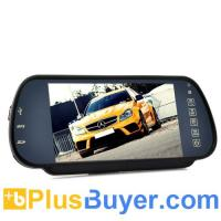 Wholesale 7 Inch Handsfree Bluetooth Rear View Mirror Monitor With Multimedia MP4 Player from china suppliers