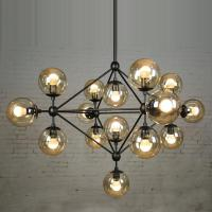 Quality Metal Industrial Vintage Lighting 15 / 21 Heads Replica Jason Miller Modo for sale