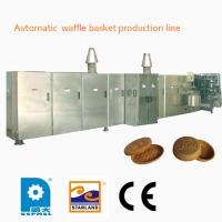 Wholesale Fast Heating Up Oven Ice Cream Making Machine , Industrial Ice Cream Wafer Machine from china suppliers
