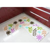 Wholesale slip-resistance eco-friendly cushioned kitchen floor mats of Recycled cotton from china suppliers