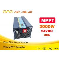 Wholesale High Efficiency Off Grid 3000w Pure Sine Wave Inverter / House Power Inverter from china suppliers