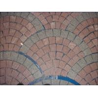 Buy cheap Granite Pavers, Fanshaped with Various Color Granite Paving stone from wholesalers