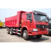 Quality Ventral Lifting Heavy Duty Dump Truck With 20m3 Cargo Body Strong Reinforced Frame for sale