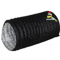 Wholesale PVC Aluminum Portable Fire Rated Flexible Ducting With 3000 Pa Operating Pressure from china suppliers