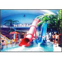 Wholesale Indoor / Outdoor Fiberglass Water Slides Games For Kids / Family Holiday Resort from china suppliers