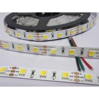 Wholesale 12V 5050 WW+W CCT dimmable led strip 60led 9.6w from china suppliers