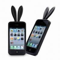 Wholesale Silicone Case for Apple's iPhone, Slim and Easy to Touch, with 4C Color Design from china suppliers