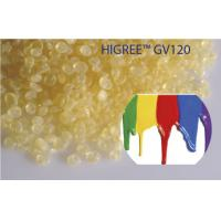 Buy cheap Higree GV120, C9 yellow petroleum resin for paints & coating , with 6 # color from wholesalers