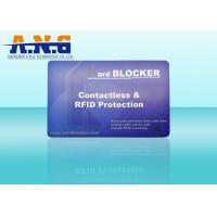 Wholesale High Security Plastic RFID Access Card CMYK With Reading Range 2cm - 10cm from china suppliers