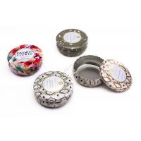 Wholesale Premium Voluspa Round Candle Small Tin Boxes With Print And Embossing from china suppliers