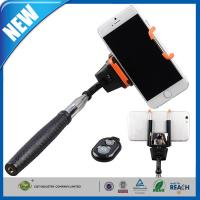 Wholesale Bluetooth Monopod Shutter / Adjustable Phone Holder For iPhone from china suppliers