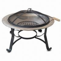 Wholesale Fire Pit, Measures 76 x 76 x 54cm from china suppliers