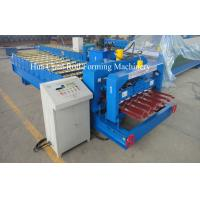 Wholesale 1250mm Glazed Tile Roof Panel Roll Forming Machine / Cold Roll Forming Equipment from china suppliers