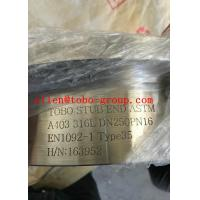 Wholesale STUB END ASTM A403 316L DN250PN16 EN1092-1 Type35  BW, as per DIN 2642 from china suppliers