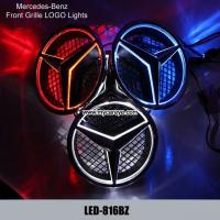 Wholesale Mercedes-Benz Front Grille logo LED Light Badge Light Auto Led Lights Auto Emblem from china suppliers