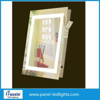 Wholesale Square Frameless LED Mirror Lights Bathroom Mirror Side Lights Anti Fog Waterproof from china suppliers