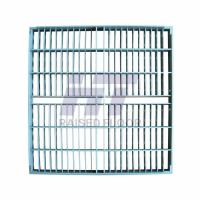 Quality Steel Grating Perforated Raised Floor Large Air Flow Rate with Powder Epoxy for sale