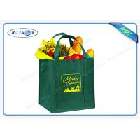 Wholesale 80/90/100 gsm non woven PP promotional bags with  reinforced handles from china suppliers