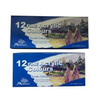 Wholesale Light - Fastness Acrylic Colour Set Art Painting Colours 12 X 12ml Tubes from china suppliers