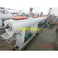 Wholesale 20-63mm Plastic Pipe Extrusion Line , Hdpe Pipe Extrusion Line 120KG/H from china suppliers