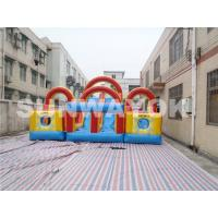 Wholesale Double And Quadruple Stitched Inflatable Obstacle Course For Children from china suppliers