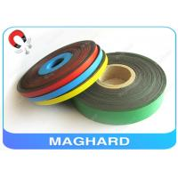 Wholesale Soft Adhesive Flexible Rubber Magnetic Strip with Color PVC Permanent OEM from china suppliers