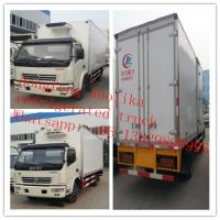 Wholesale 5 tons 6 wheels Dongfeng 120hp freezer container from china suppliers