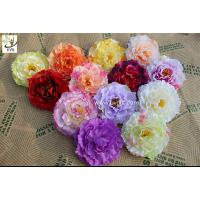 Wholesale UVG diy wedding decorations with colorful silk fabric penoy cheap artificial flowers FPN118 from china suppliers