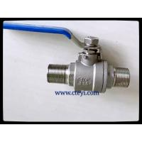 Wholesale RPTFE / PTFE / PEEK / PPL Seat Extend Body Stainless Ball Valve With Lock Hand from china suppliers