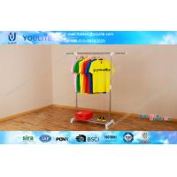 Wholesale Free Standing Single Pole Clothes Hanger Racks / Folding Clothing Drying Rack from china suppliers