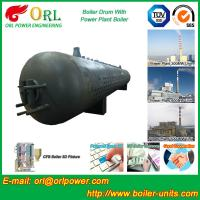 Wholesale 300 Ton Hot Water Carbon Steel Boiler Drum Water Proof Heat Insulation from china suppliers