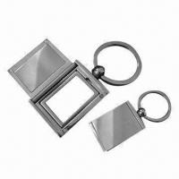 Wholesale Metal Photo Keychains/Waterproof Photo Keychain, Easy to Operate, OEM orders Accepted from china suppliers