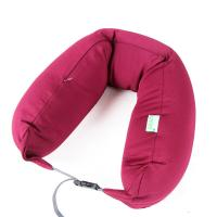 Wholesale Wine Red Spandex Neck Pillow Cover  for Sleeping in Airplane or Car from china suppliers