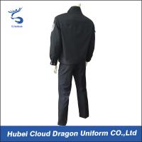 Quality Durable Navy Twill Duty Security Guard Apparel , Police And Security Uniforms for Men for sale