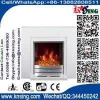 freestanding electric fireplace Heater with matel stove NDY-19MA chimenea burning LED flame effect  indoor/room heater