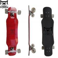 Wholesale 37.8*8.75 inch 8 Ply Canadian Maple Longboard dye colour,7 inch ub truck skateboard  (LD-157) from china suppliers
