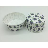 Wholesale Grape Pattern PET Baking Cups Food Grade Paper Material 75-40mm Varous Size from china suppliers
