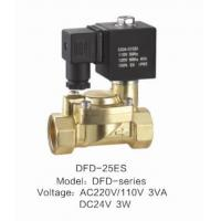 Wholesale 24VDC Low Power Air Valve Solenoid Slowly Heating Up With ES Coil from china suppliers